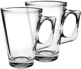 Set căni din sticlă VELA 240 ml, 2 buc.