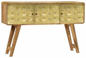 246342 vidaXL Servantă, 120 x 30 x 80 cm, lemn masiv de mango