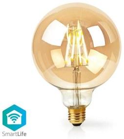 Nedis WIFILF10GDG125 − LED Dimmabil inteligent bec VINTAGE E27/5W/230V