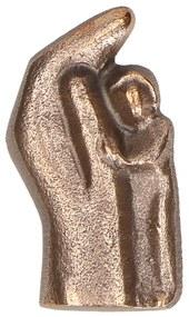 """Statueta bronz """"Copil ocrotit"""""""