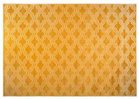 Covor galben 160x230 cm Feike Ochre White Label