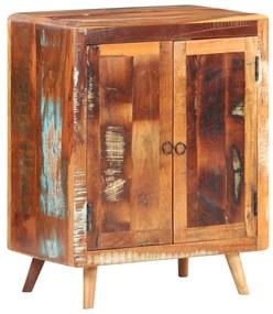 321797 vidaXL Servantă, 60 x 35 x 76 cm, lemn masiv reciclat