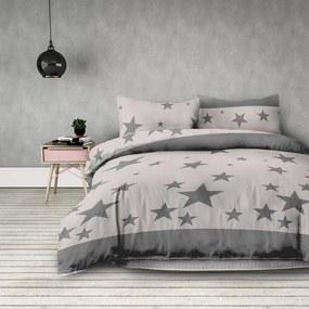 Lenjerie de pat DecoKing Stardust, 140 x 200 cm, 70 x 90 cm, 140 x 200 cm, 70 x 90 cm