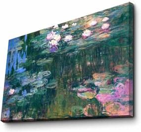 Reproducere tablou pe pânză Claude Monet, 45 x 70 cm