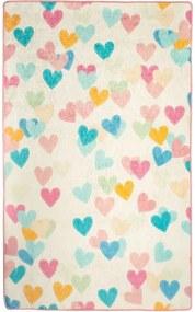 Covor copii Hearts, 100 x 160 cm