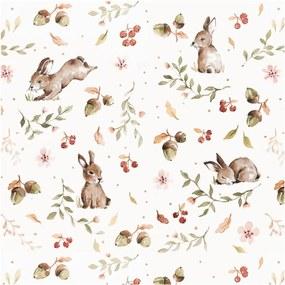 Tapet Dekornik Happy Rabbits, 50 x 280 cm
