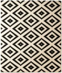 Covor Hanse Home Hamla Diamond Black, 200 x 290 cm, negru