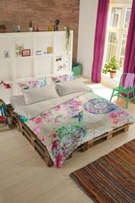 Home lenjerie de plapuma colorata reversibila pentru pat dublu Hip Pallavi 200x200/220cm