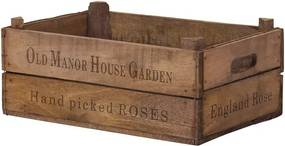 Cutie de depozitare Cavandale din lemn masiv