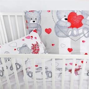 Lenjerie de pat pentru copii INIMIOARA