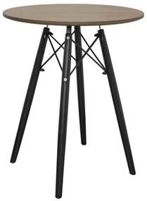 Masă rotundă ANELLO Dark Ash 60cm