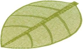 Suport pentru farfurie Unimasa Leaves, 50 x 33 cm, verde