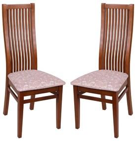 Set 2 scaune Puerto, Lemn, Walnut/Regent 03