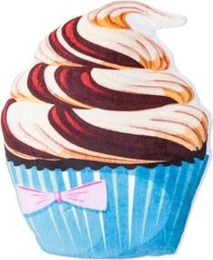 Pernă cu formă aparte Tort ciocolată vanilie, 43 x 38 cm