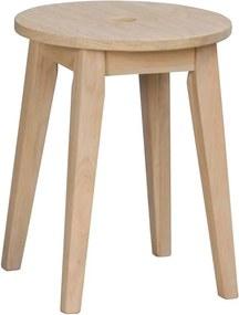 Scaun din lemn de stejar, mat, Rowico Metro, înălțime 44 cm