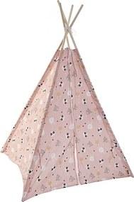 Cort pentru copii Happy Pink 120x120 cm