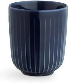 Cană din porțelan Kähler Design Hammershoi, 300 ml, albastru închis