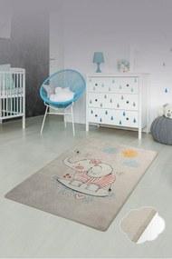 Covor pentru copii Lovely Gri - 100 x 160 cm