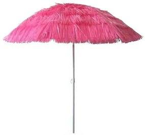 Umbrela plaja diametru 180 cm, inaltime 200cm - WAIKIKI  Roz