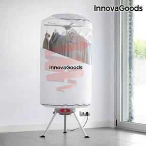Uscător Portabil de Haine InnovaGoods 1000W Alb