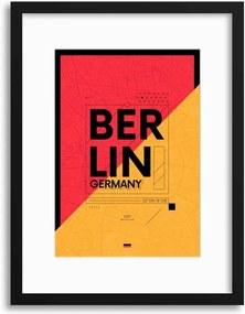 Imagine în cadru - Berlin City Travel Poster 30x40 cm