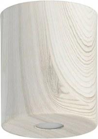 Spot alb din metal cu LED Ylang Markt MW Glasberg