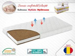 Saltea fibra cocos MyDreams 120x60x10 cm