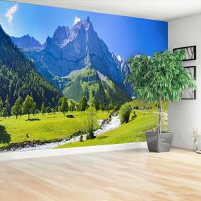 Fototapet Panorama Alpii
