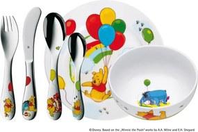 Set 6 tacâmuri din inox și veselă pentru copii WMF Pu Med