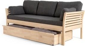 Ladă pentru depozitare din lemn de mesteacăn pentru canapeaua Kiteen Kanerva