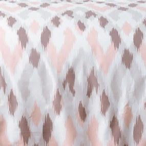 Lenjerie de pat din bumbac SOLO pat franțuzesc