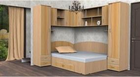 """Dormitor Tineret Colt """"S"""", FAG+CIRES 187x51/247x200cm"""