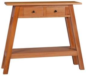 288891 vidaXL Masă consolă, 90 x 30 x 75 cm, lemn masiv de mahon
