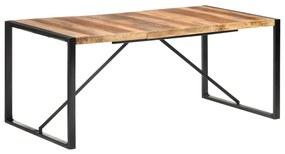 321542 vidaXL Masă de bucătărie, 180x90x75 cm, lemn masiv cu finisaj sheesham