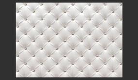Fototapet Bimago - White Elegance + Adeziv gratuit 300x210 cm