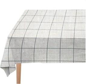 Față de masă Linen Couture Blue Lines, 140 x 140 cm