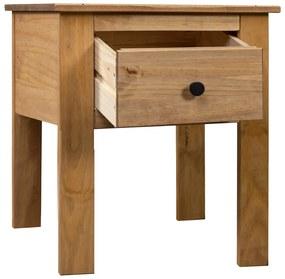 282691 vidaXL Noptieră, 46 x 40 x 57 cm, lemn de pin, gama Panama