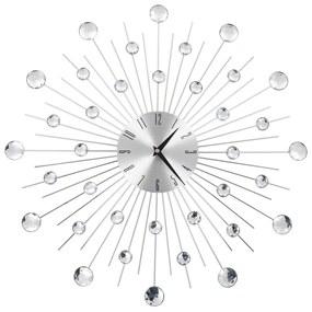 50642 vidaXL Ceas de perete, mecanism cuarț, 50 cm, design modern