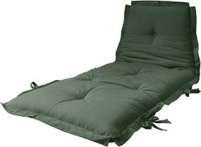 Futon pliabil Karup Design Sit & Sleep Olive Green