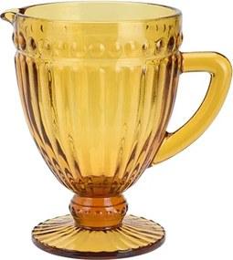 Carafa Cristal din sticla portocalie 1l