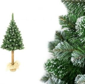 Pom de Crăciun pe trunchi natural Pin 180 cm Luxury Diamond