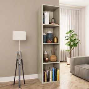 800147 vidaXL Bibliotecă/Comodă TV, stejar Sonoma, 36 x 30 x 143 cm, PAL