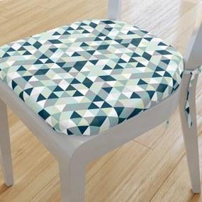 Goldea pernă pentru scaun rotundă din bumbac 39x37cm - model 663 39 x 37 cm