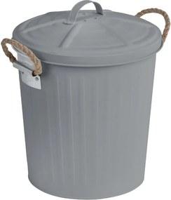 Coș de gunoi din inox Wenko, gri