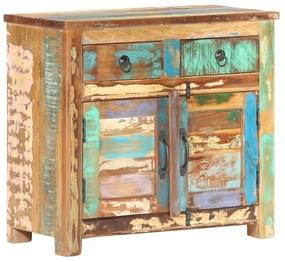 287490 vidaXL Servantă, 70 x 35 x 65 cm, lemn masiv reciclat