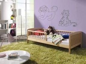 Pat natural Junior pentru copii – 160 x 70 cm junior natural 160x70cm