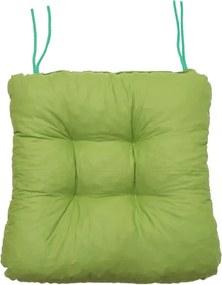 Pernă pentru scaun Soft primavară verde