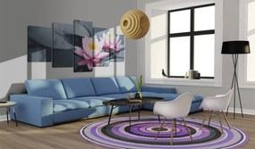 Tablou - Snění o liliích 100x50 cm