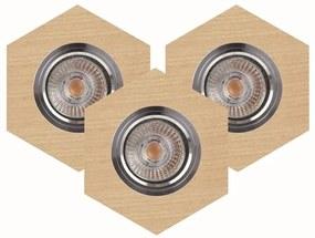 Spot-Light 2518360 - SET 3x Lampă încastrată LED VITAR 3xGU10/5W/230V