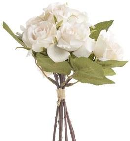 Buchet de flori decor Ivory 23 cm